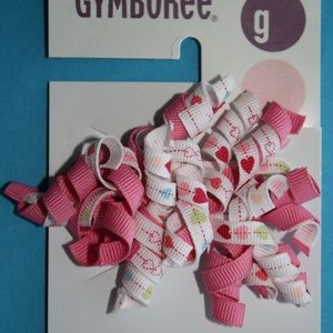 Sugar Cookie Curly Corker 1 Bow Gymboree NWT